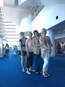 Porterville Represents in Japan, Renay S., Sharon P., Ela P., Lynn T.