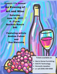 Evening of Art and Wine Event @ Nuckols Ranch | Porterville | California | United States