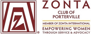 Zonta Club of Porterville Logo